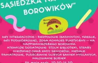 Integracja międzypokoleniowa na Skwerze Borowków
