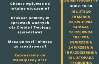 Spotkanie RO Chełmińskie 03/09/2018, g.18:30, Sp 4
